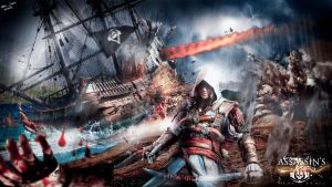 Edward Kenway - Assassin's Creed Black Flag IV  4 by junnioor