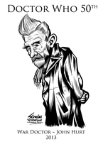Doctor Who War Doctor John Hurt by SouthParkTaoist