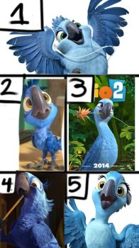 My top five favorite Rio characters by riocraft