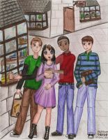 Summerday at Hogsmeade by Paty-Longbottom21