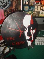 The Crow Clock by artbyabbey