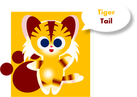 Tiger Tail by Alice-of-Africa
