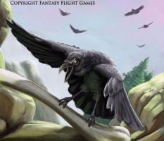 FFG Highlands Carrion Bird by fuuryoku