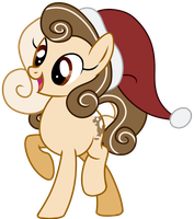 Gift: I'm so jolly I put a hat on by HoofSplatter