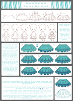 Tutorial - Frills and Folds by XAngelFeatherX