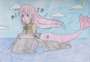 Vocaloid - Songstress of the Sea by SwiftNinja91