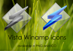 Vista Winamp by Guylia