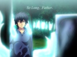 Ao NO Exorcist Rin Okumura by Mr123GOKU123