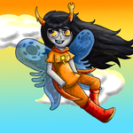 Vriska God Tier by FloralFantasy