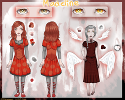 [Com] Madeline ref by lovelymeows