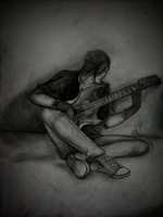 """""""Just me and my guitar"""" by AdoraLynn"""