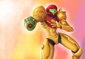 Samus by Xeno-Rei