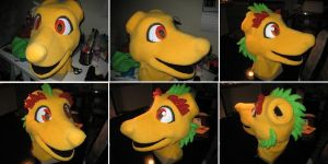 Haruki - The Sun Dragon WIP 2 by DragonCid