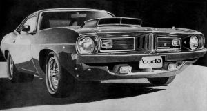 '74 Plymouth Barracuda by squallleonhart