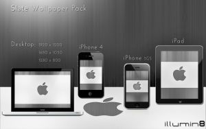 Slate Wallpaper Pack by Illumin8-Design