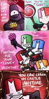 Good Knight, Valentine by pickles-4-nickles
