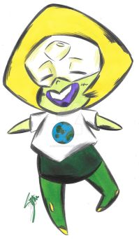 Peri Loves Earth by winterStorm42