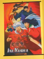 InuYasha gang Scroll Poster by Finny-KunGoddess