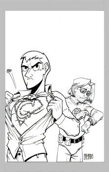 Incrediblejeff COVER INKS by NotEricMrock