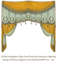 Extended 1809 Curtain Only by EveyD