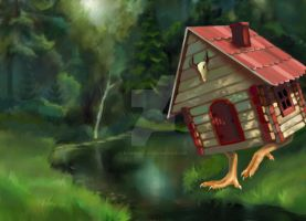 The house on chicken legs by ElenaNaylor
