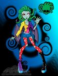 Monster High OC: Cathilu - Redesign by Chibi-Warmonger
