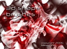 3d shape brushes by mikec1998