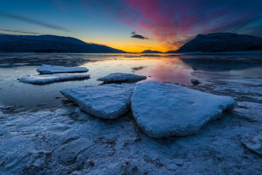 Blue Ice by KennethSolfjeld