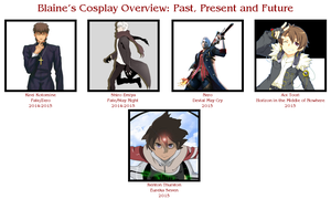 Blaine's Cosplay Overview by CCCosplayers