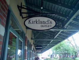 Kirkland's Outlet by bluerose269