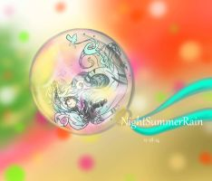.:Commission:. Chibi Ornament for Perxenate by NightSummerRain