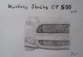 Mustang Shelby GT 500 by Carlitos-Girl