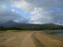brodick beach by lunacy79