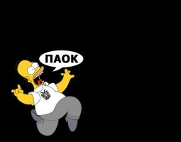 PAOK SIMPSON by fanis2007