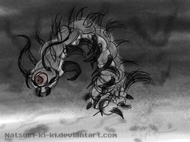 Giant Cave Centipede by Inkblot-Rabbit