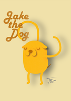 Jake - The Dog by tirmesaito