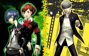 Persona - Main Protagonists by SonicGenerations1234