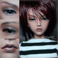 Azur face-up by deVIOsART