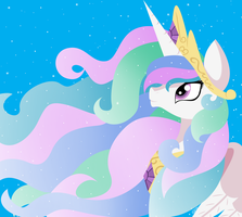 Princess Celestia by mlpdisney