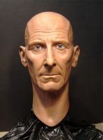 Peter Cushing head sculpt by MR-BARLOW