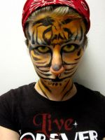 Tiger Facepaint 3 by TsunamiTheWave