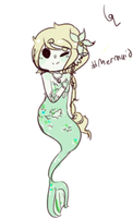 sketchy mermaid adopt CLOSED by hanecco
