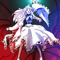 playing too much touhou by rosenknospeo