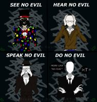 The-Four-Wise-Slender by GreenMute