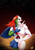 Miss Martian - Shadow of Mars by adamantis