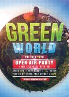Green World - Flyer Template by VectorMediaGR