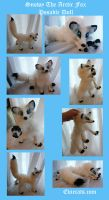 Snowy the Arctic Fox Posable Doll by Eviecats