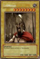 Leonidas card by Mexicano27
