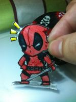 Paperchild: Deadpool by Keixth