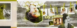 Lily Collins Cover by btchdirectioner
